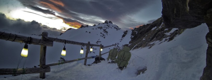 alpine proof funktionsjacken test kälte outdoor