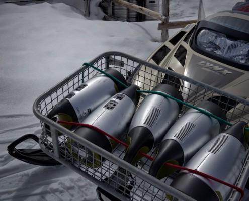 Gioalzero Solar Akku Textilforschung Alpine Proof