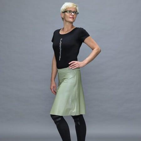 onlineshop bestellen grau gruen damenrock