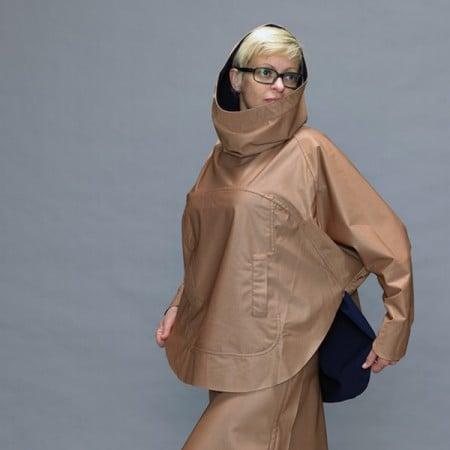 damen poncho cape bronze online boutique kaufen