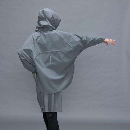 designer damen poncho jacke webshop polychromelab