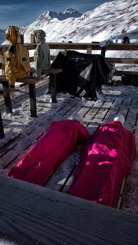 outdoorbekleidung testen alpine proof