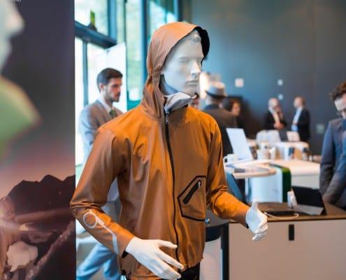 Innovationstag Tirol polychromelab Outdoorjacken