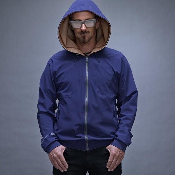 blau bronze designerjacke wolfgang langeder kaufen